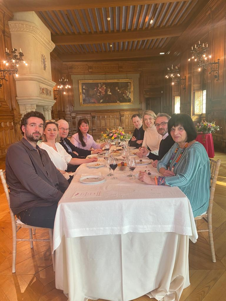 """""""Les Carnets de Julie"""" : A la table de Mme de Sévigné. Grignan - Valréas - Richerenches - Tulette - Donzère -"""